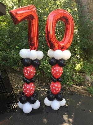 Jumbo Numbers - Milestone Birthdays