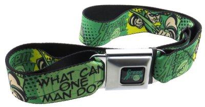 Green Arrow - WHAT CAN ONE MAN DO? Seatbelt Belt