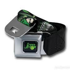 Green Arrow Seatbelt Belt