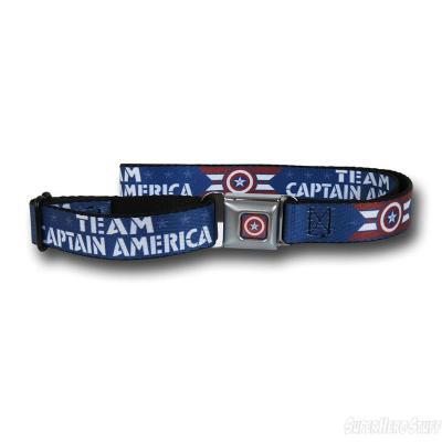 Civil War - Team Captain America Seatbelt Belt