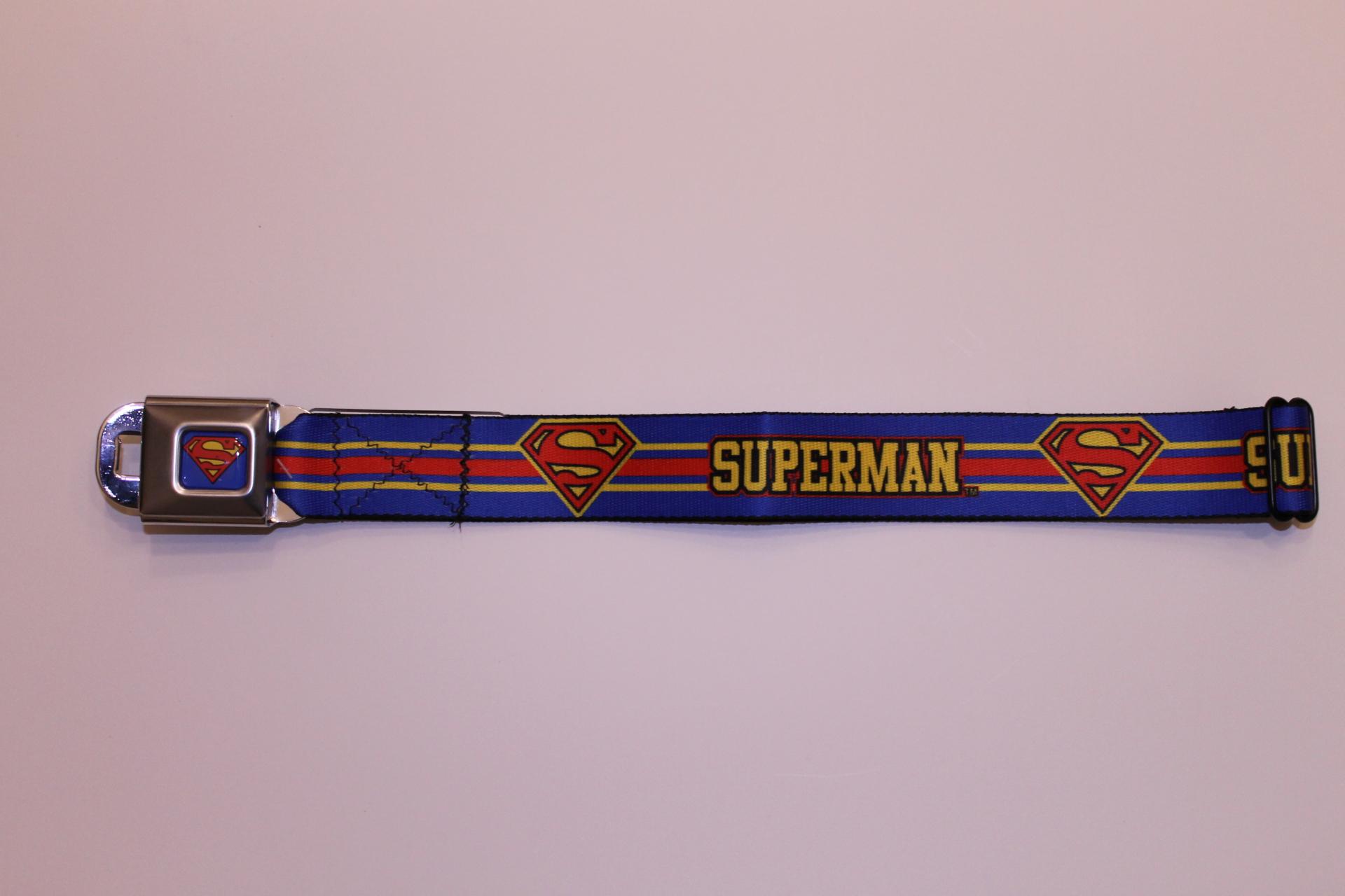 Superman Seatbelt Belt