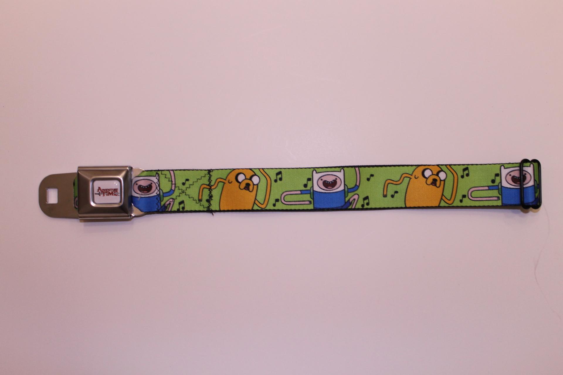 Adventure Time Seatbelt Belt
