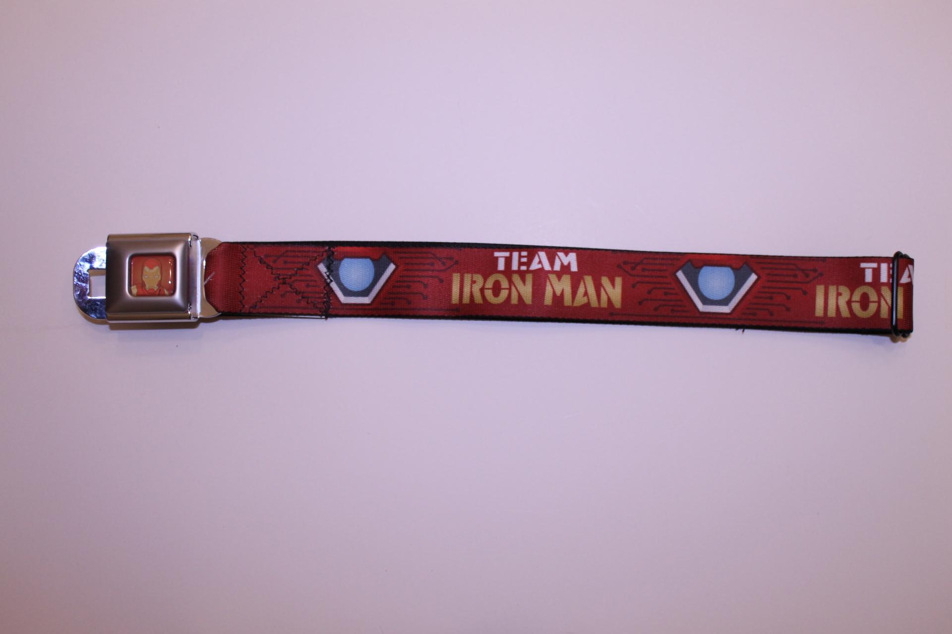 Civil War - Team Ironman Seatbelt Belt