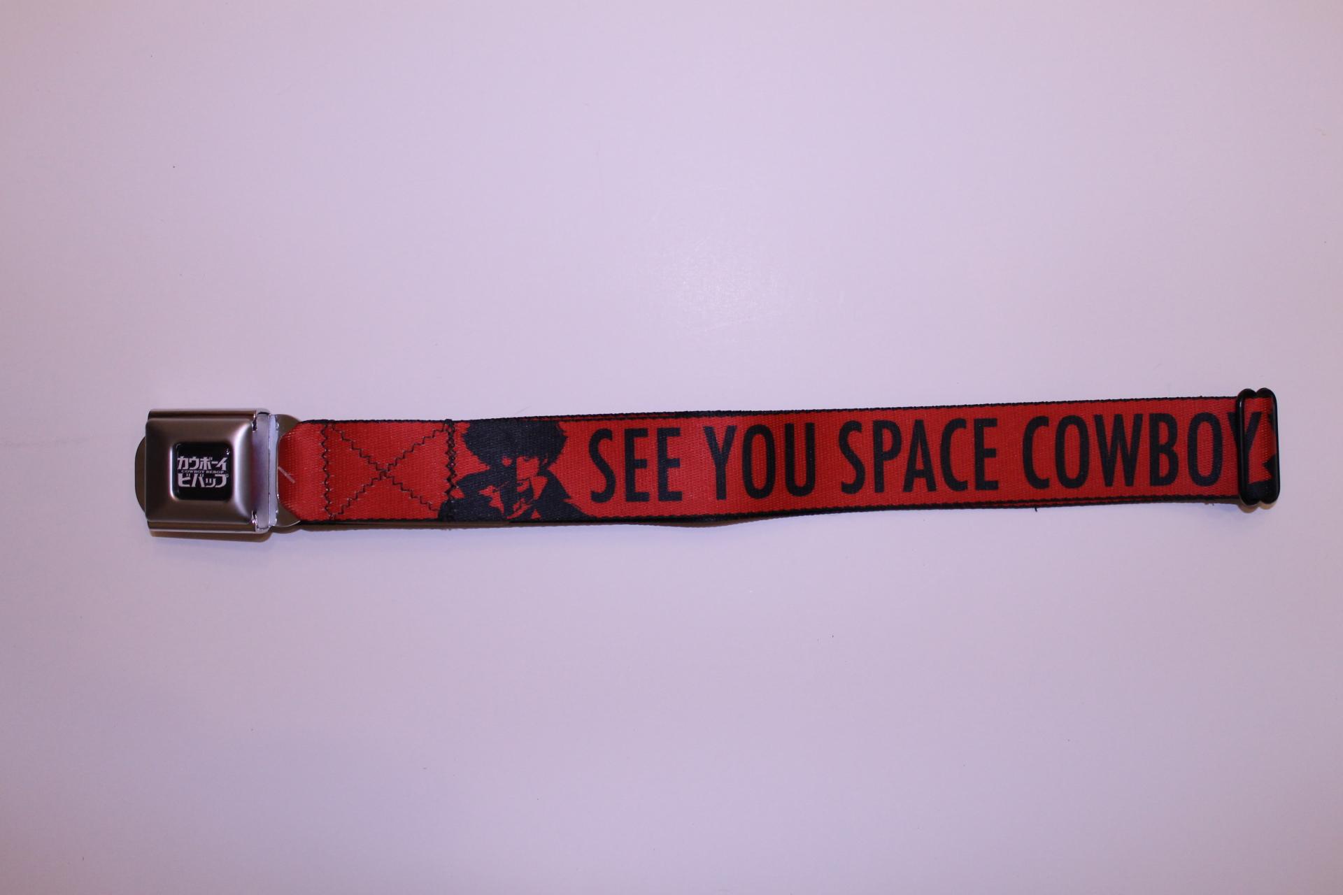 Cowboy Bebop Seatbelt Belt