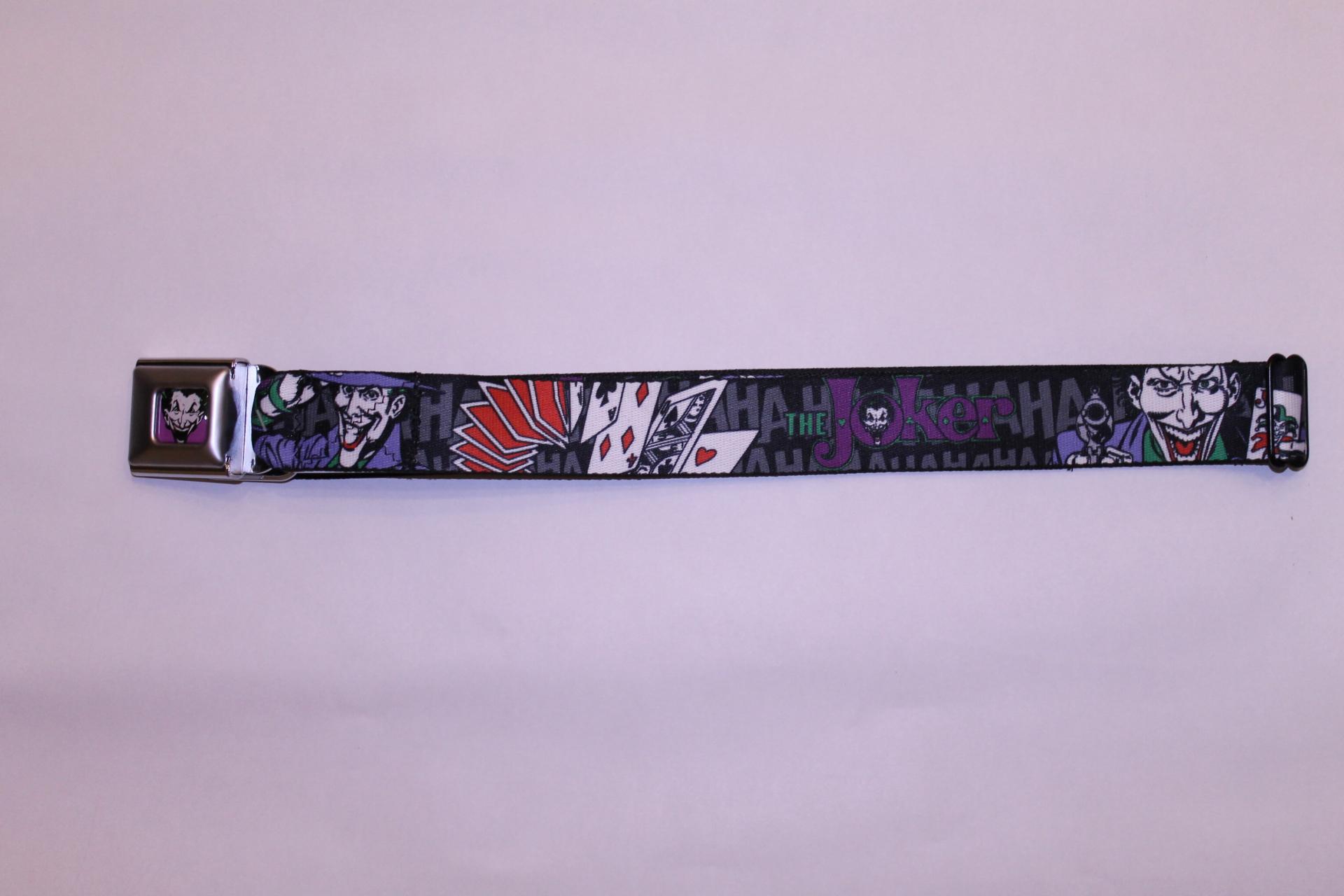 The Joker Seatbelt Belt