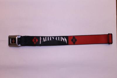 Harley Quinn Logo Seatbelt Belt