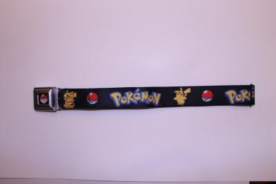 Pokemon - Pikachu and Pokeball Seatbelt Belt