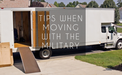 Tips for a move with the military