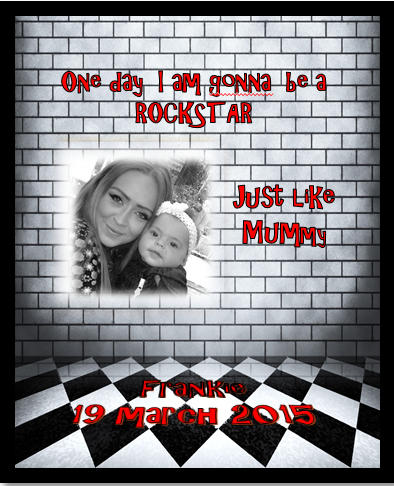 Personalised Poster