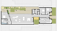 Gray Smith Architecture Berry Residence proposed floor plan design