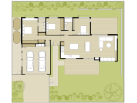 Gray Smith Architect Castlemaine house floor plan