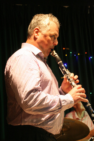 Pete Long Robertsbridge Jazz Club 14th August 2015