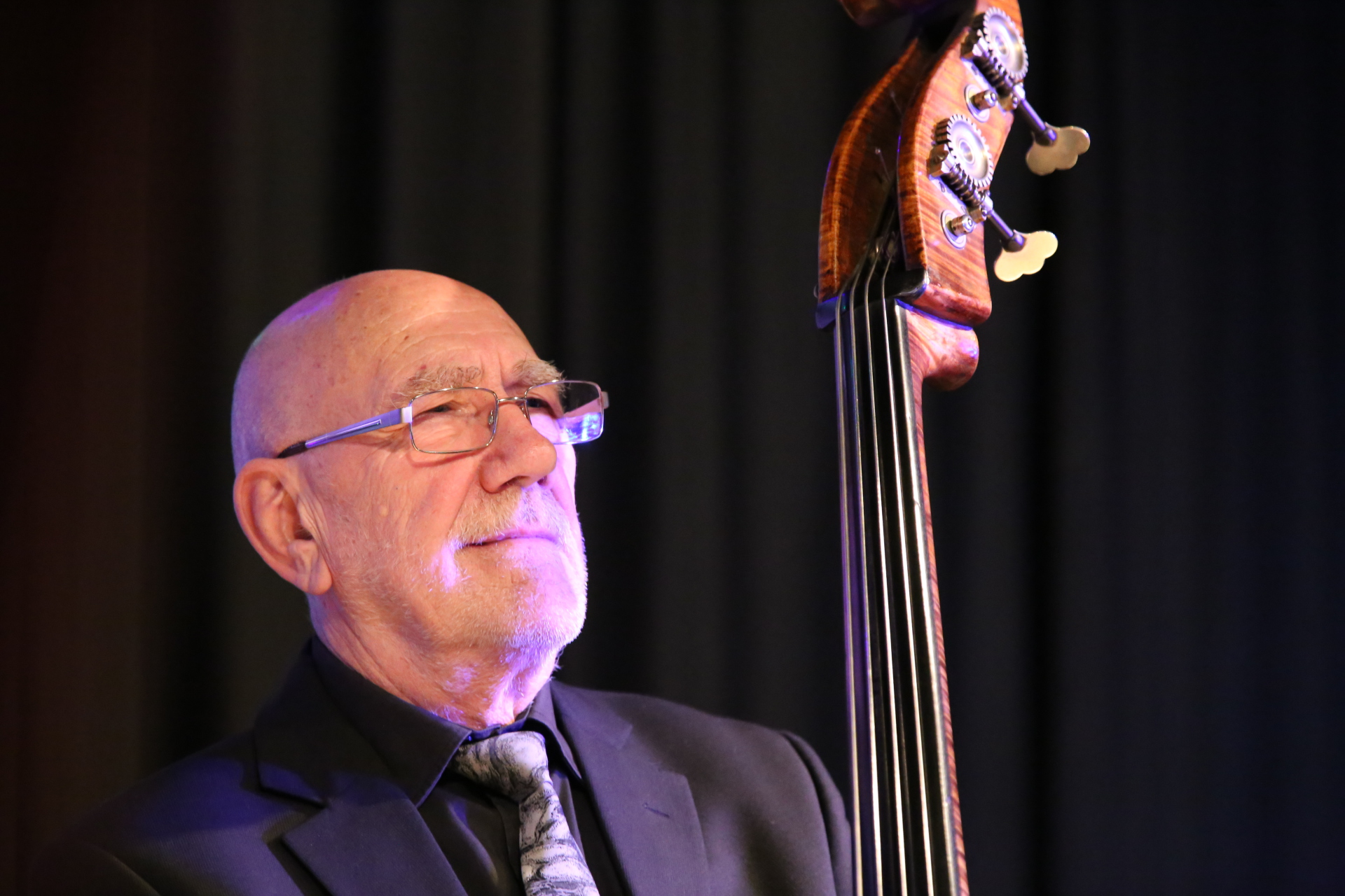 Roy Babbington Robertsbridge Jazz Club Jan 2016