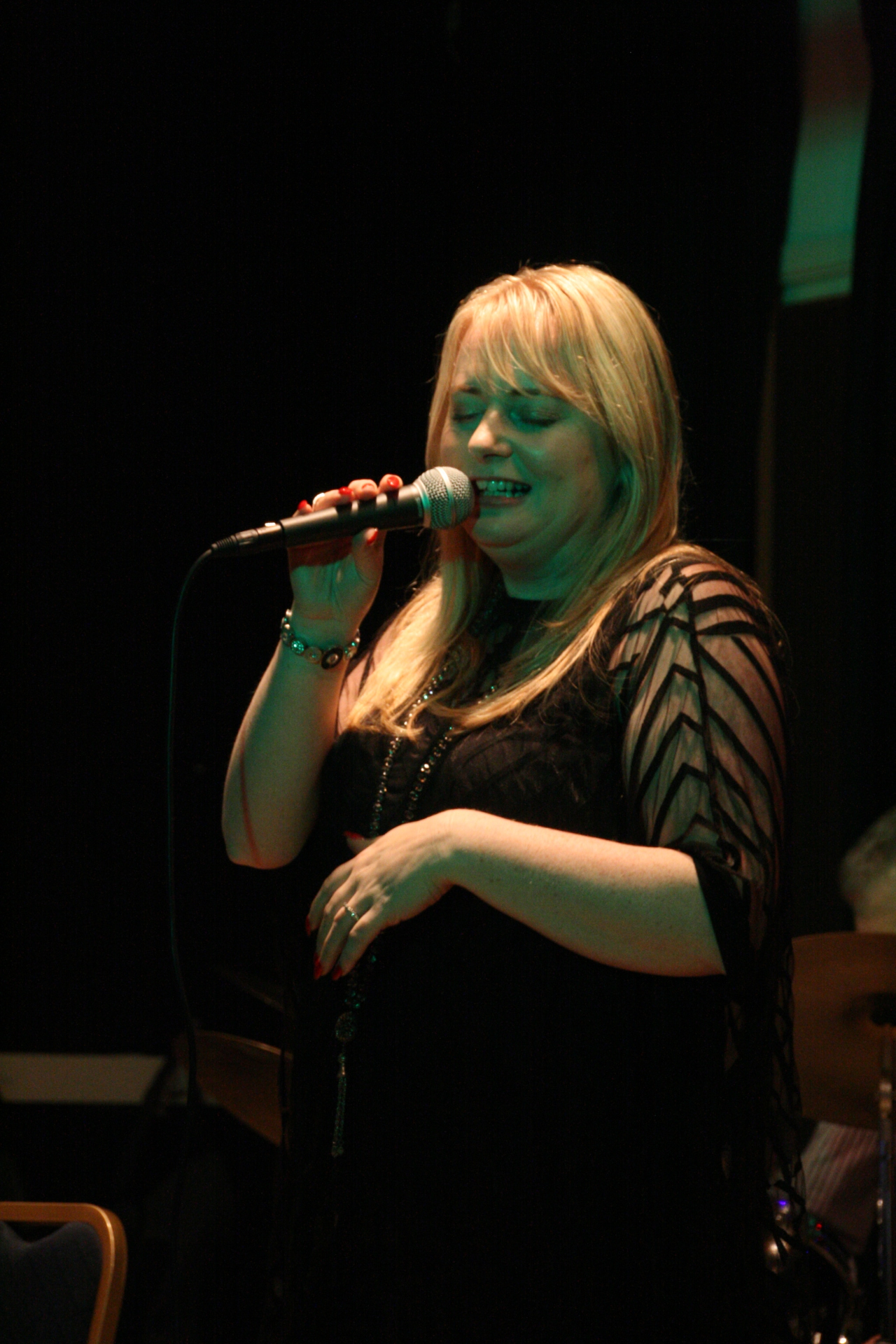Georgina Jackson Robertsbridge Jazz Club 10th December 2015