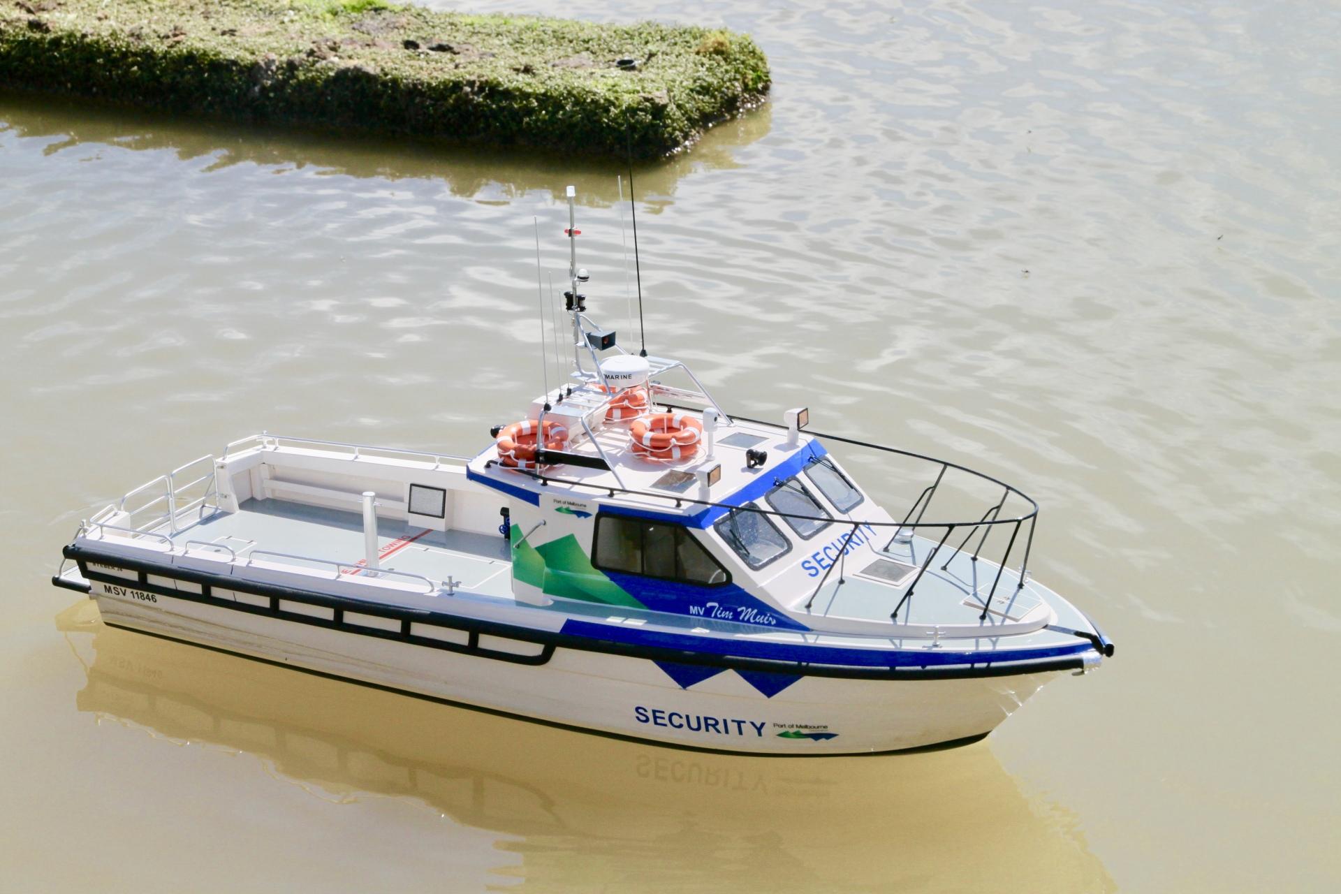 Roy's Australian patrol boat