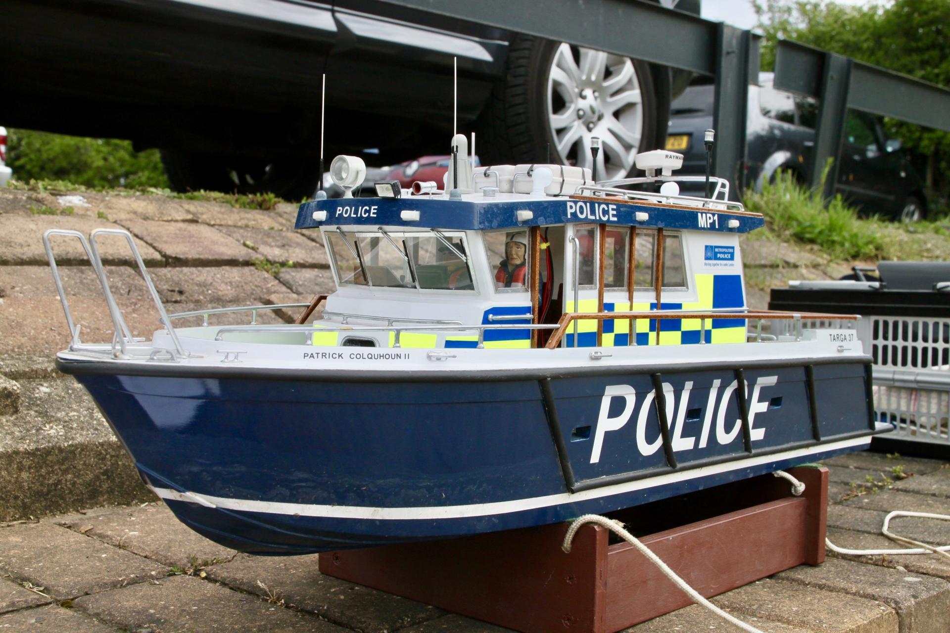 Roy's Police Boat