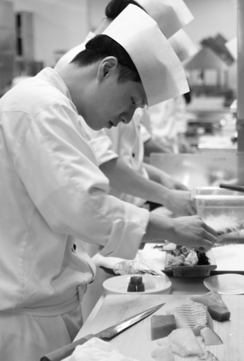 Chef Moon at Shilla hotel KOREA