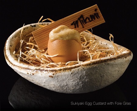 Sukiyaki Eggcustard @MIKUNI