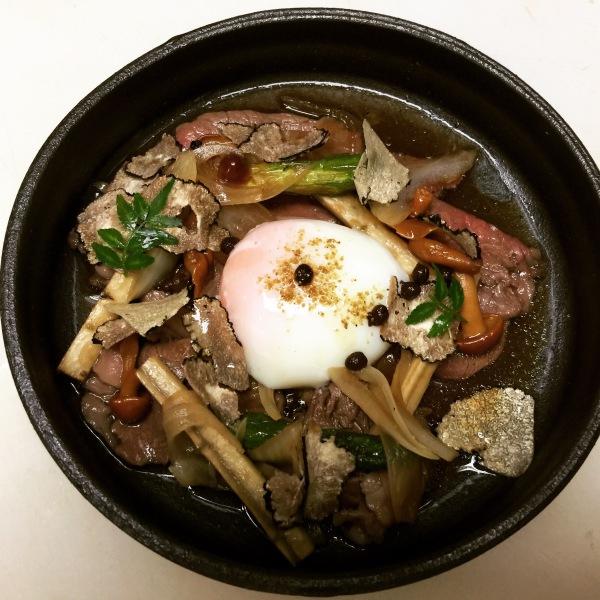 Black Truffle Sukiyaki