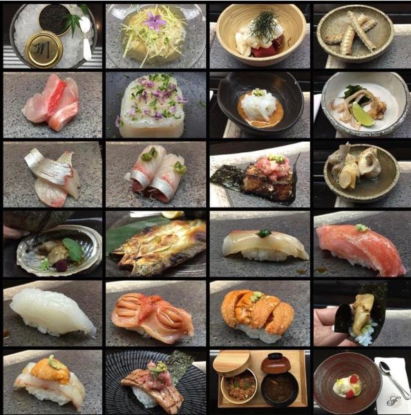 Omakase at Sushi Counter