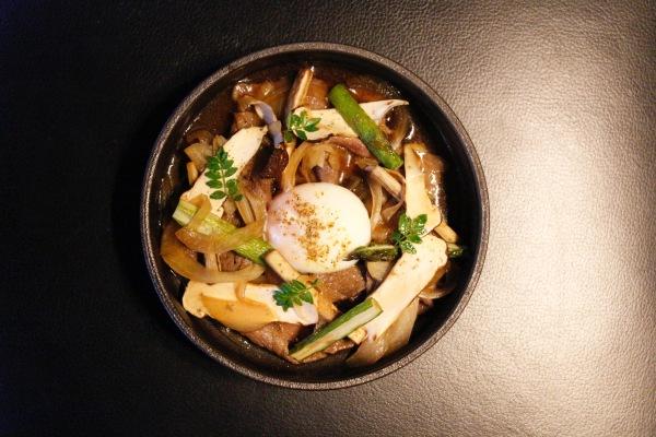 Matsutake Mushroom Sukiyaki