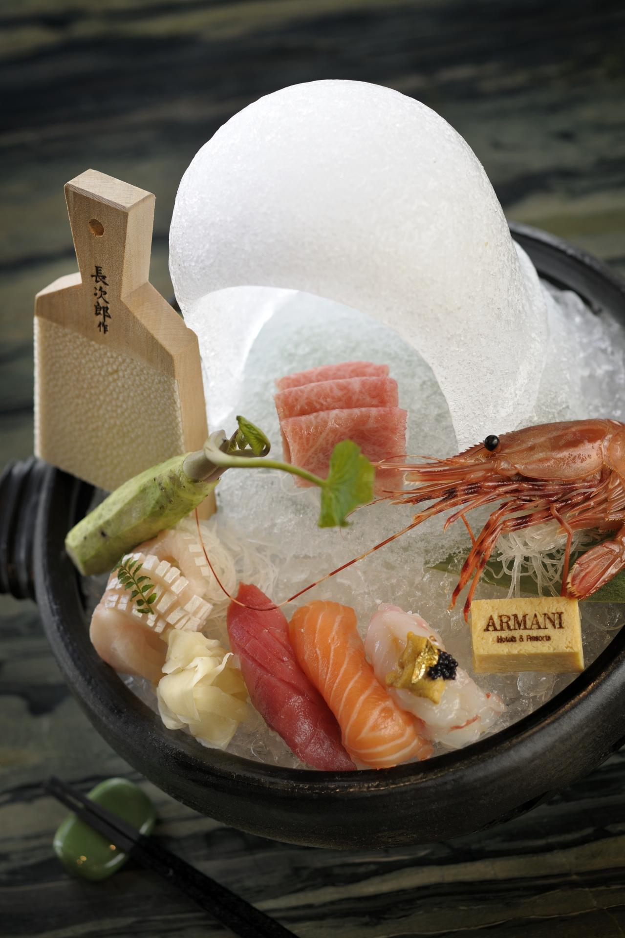 Sashimi & Sushi platter