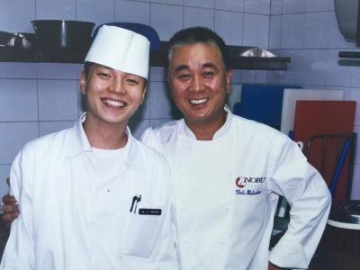 Master Chef Nobu + Chef Moon