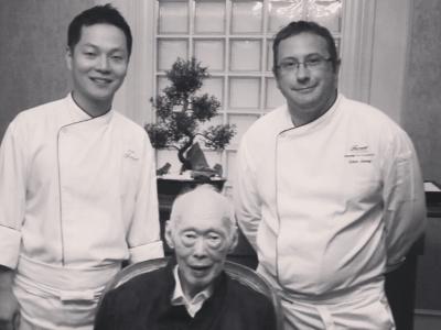 Lee Kuan Yew's Birthday Dinner