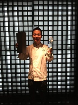 Mentor chef of the Year at singapore  global chef academy