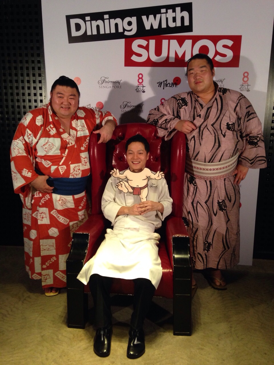 Japanese SUMO event