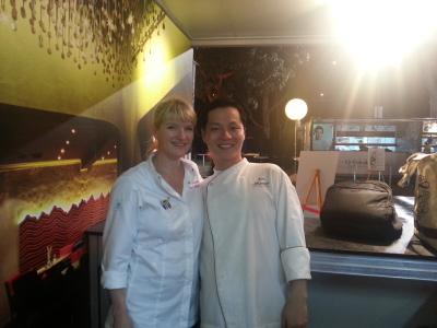 Master Chef Margot Janse + Chef Moon @ Savour 2013