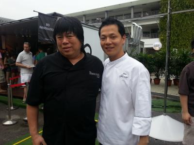 Master Chef Alvin +Chef Moon @ Savour