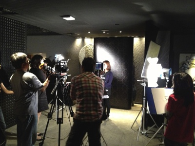 DBS Supper Club event Filming