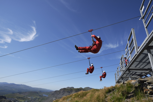 holiday cottage wales zip world blaenau ffestiniog north wales