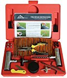 Boulder Tools Heavy Duty Tire Repair Kit - 56 Pc Set