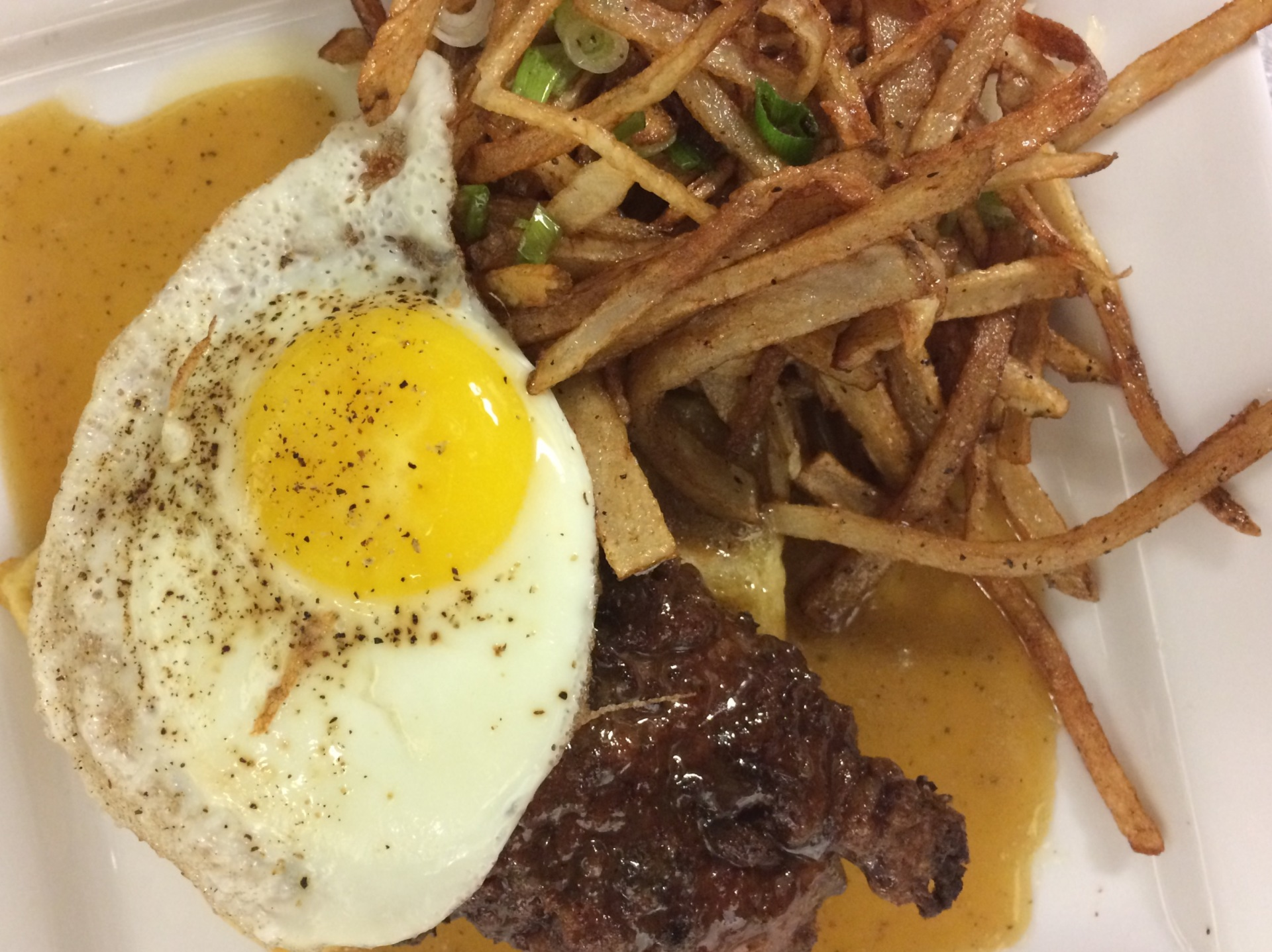 supper, duck, waffles, chicken and waffles, fries, egg, St. John's, everyday