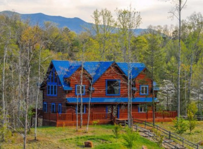 Blue Mountain Lodge gatlinburg 4 bedroom cabin