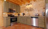 Blue Mountain Lodge kitchen