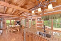 Appalachian Escape kitchen