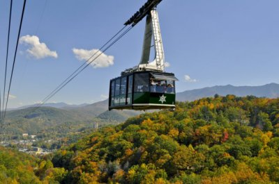 Blue Mountain Cabins what to do in gatlinburg Aerial Tram