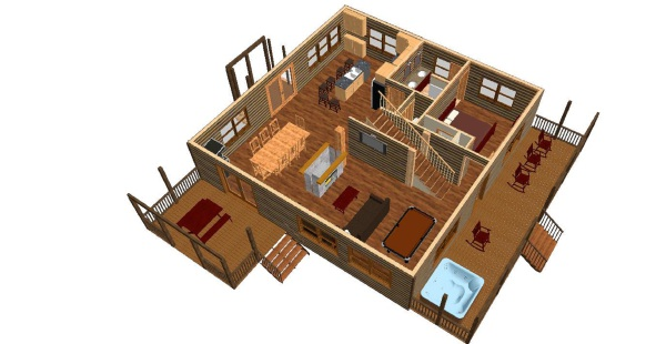 Floor plan - see exactly what you are renting