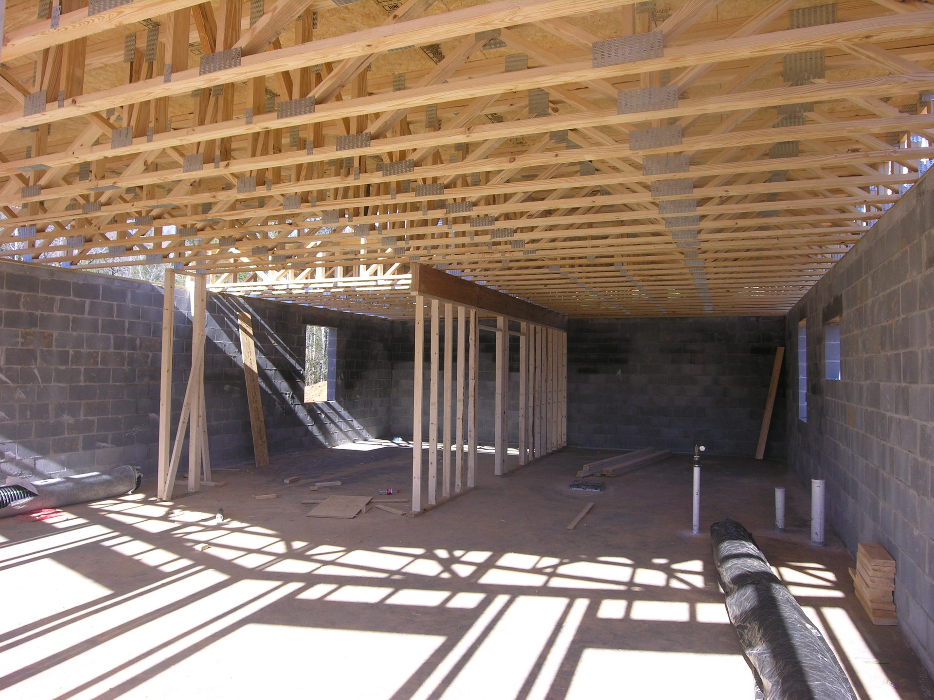 Ridge View Lodge - framing