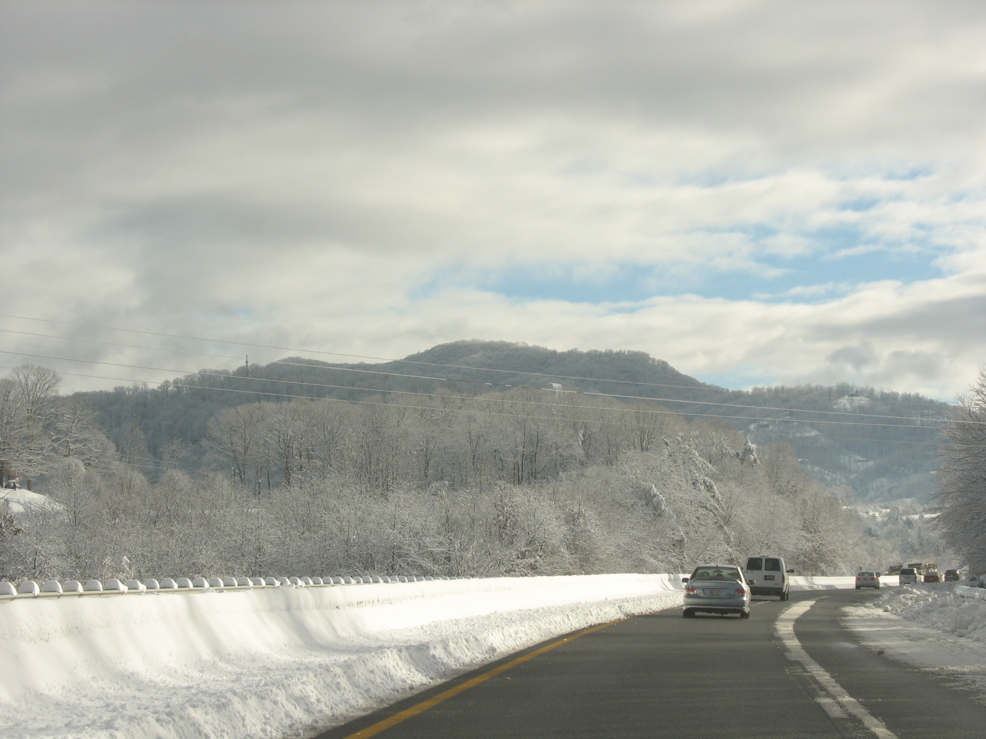 Rt 441 in the winter