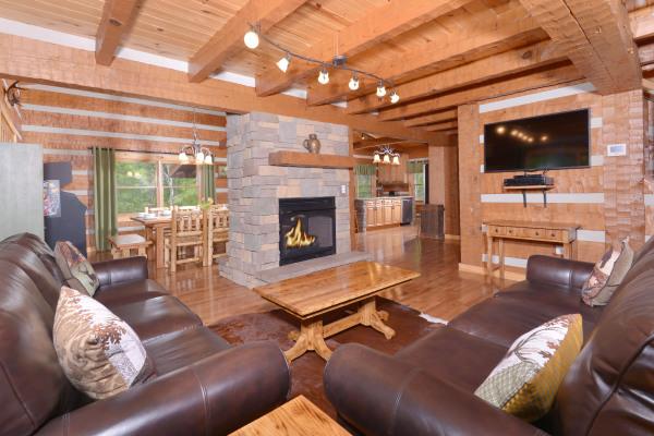Appalachian Escape cozy living room