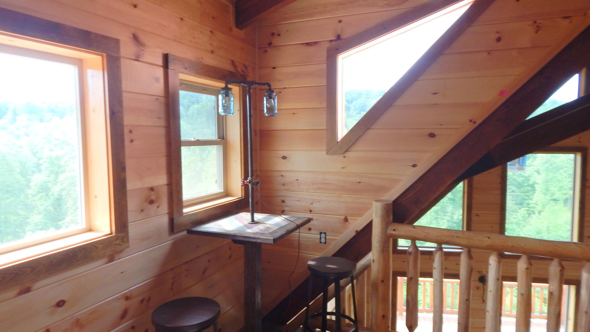 Ridge view lodge cabin game Loft