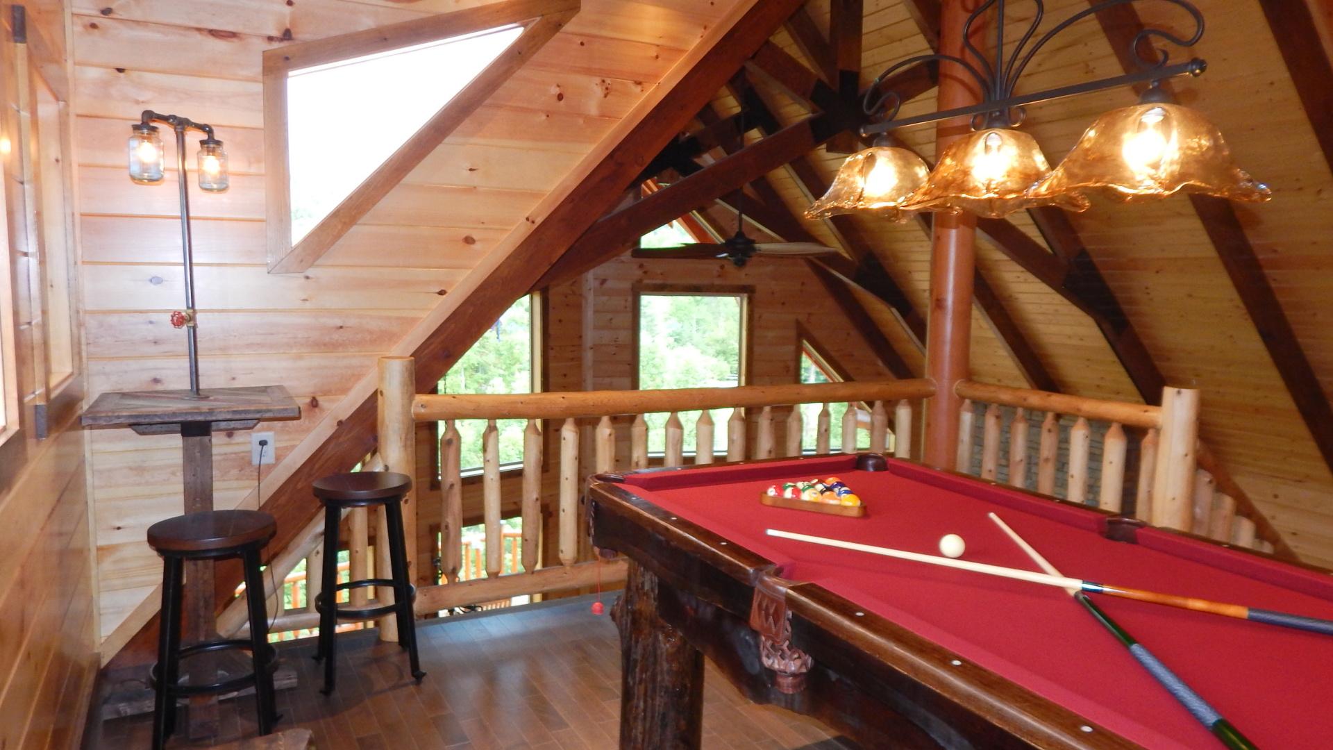 Timber frame ceilings