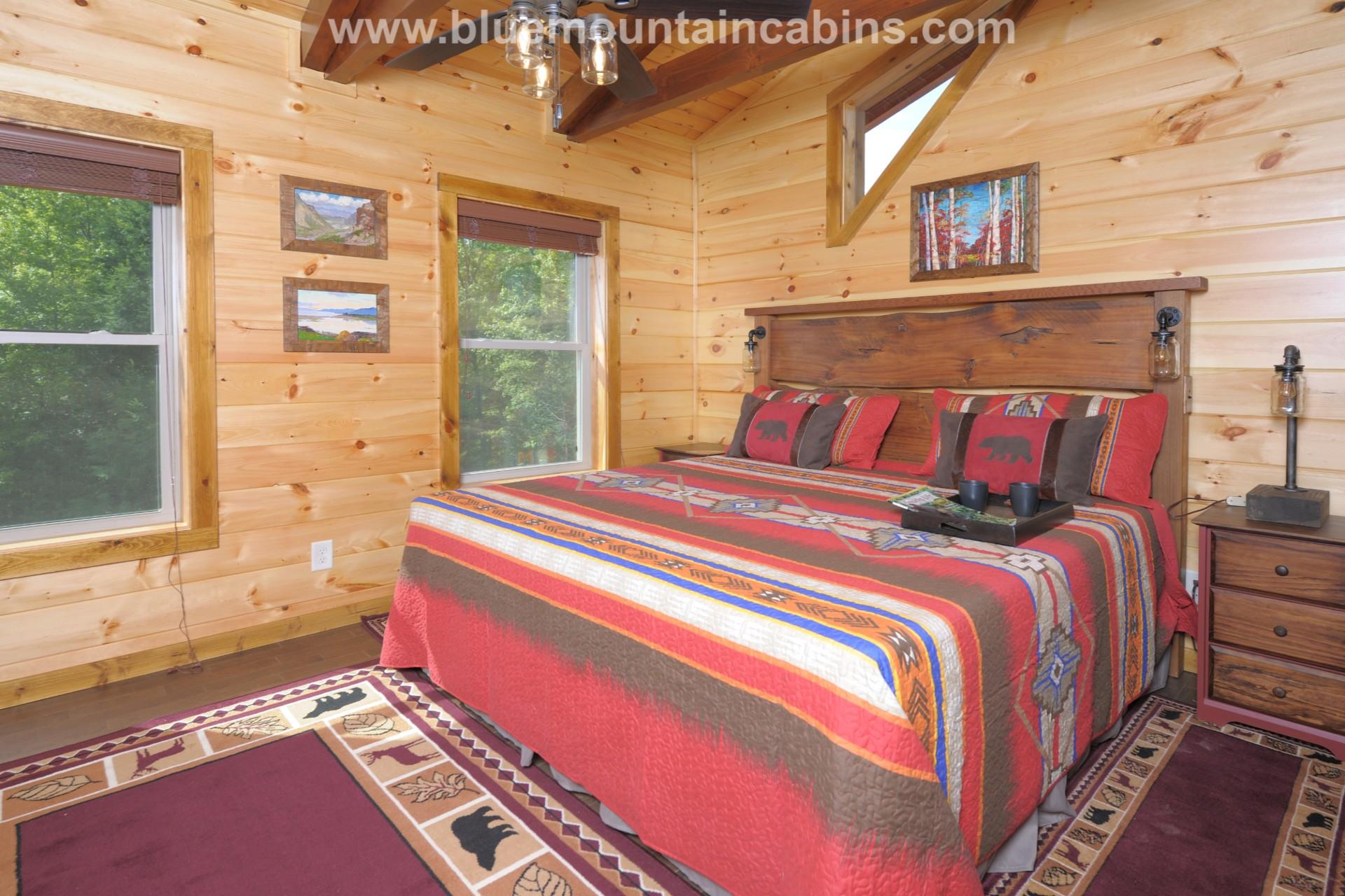 Ridge view lodge gatlinburg cabin upscale decor