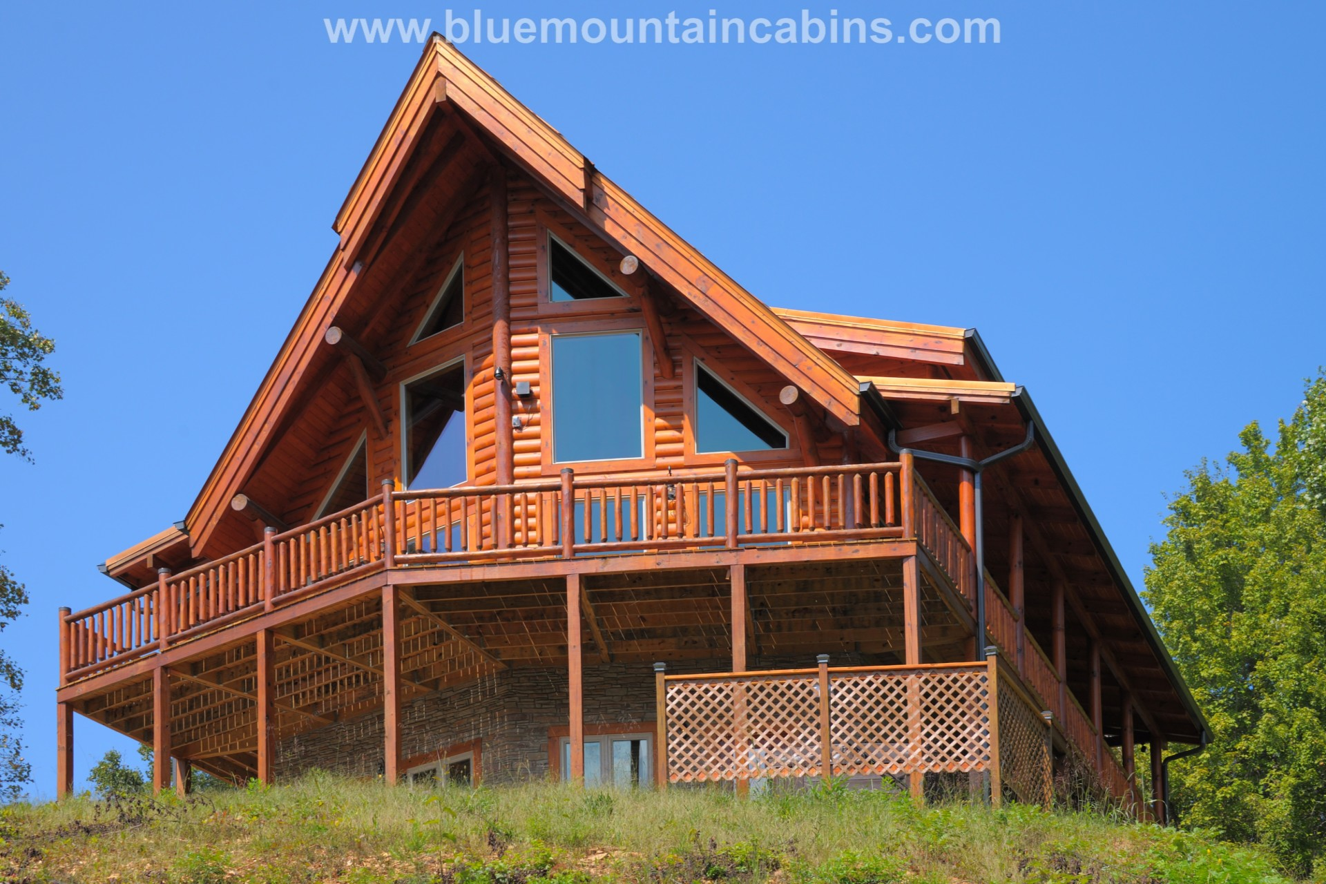 Ridge View Lodge cabin in the Smokies 5 bedroom