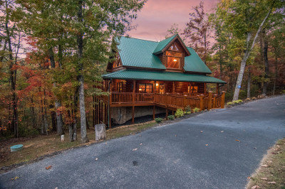 Straight from the heart willow tree cabins pigeon forge by owner
