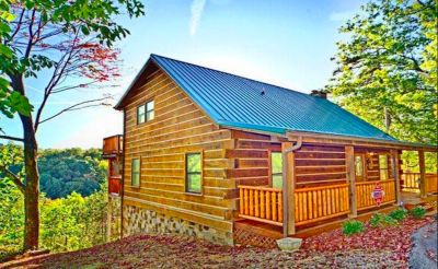 Blessings, Adventures and Happiness with a side of Amazing Views of Smokies cabin